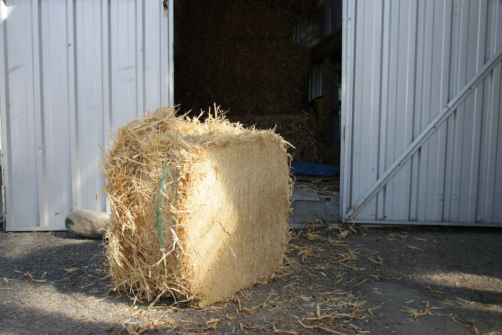 Barley Straw-compressed-bale from Composting New Zealand